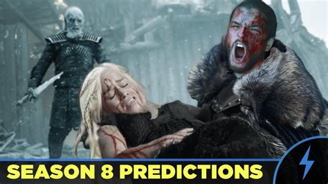of thrones season 8 of thrones season 8 preview predictions how will