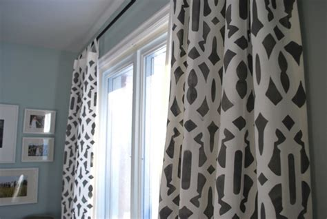 stencil curtains best 25 stenciled curtains ideas on pinterest painted