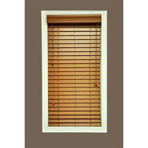 Faux Wood Blinds At Home Depot Hampton Bay Quickship Cut To Width Golden Oak 2 In Faux