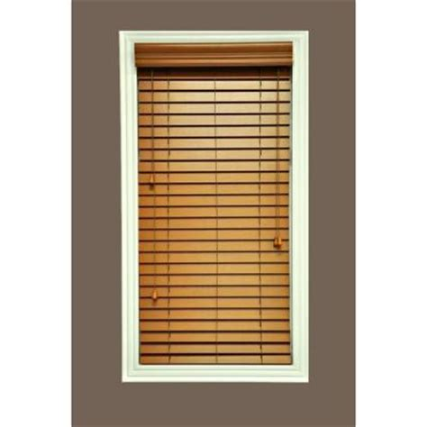 hton bay quickship cut to width golden oak 2 in faux