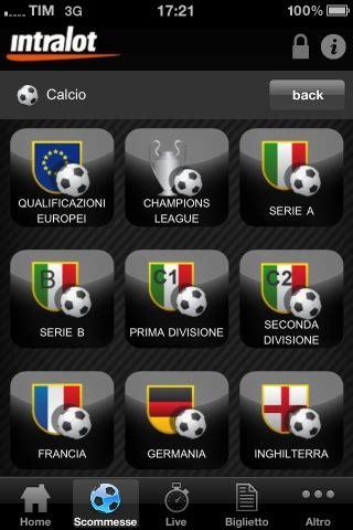 intralot mobile intralot mobile iphone app italiane