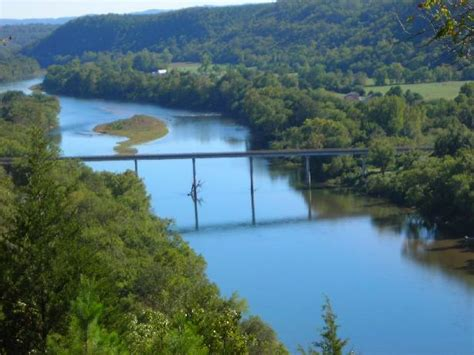 river view lot near mountain home arkansas overlooking