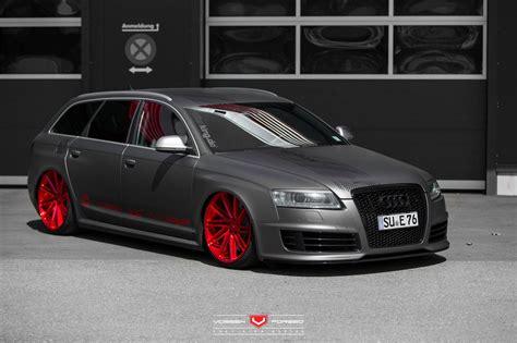 Audi Rs6 Matt by Audi Rs6 Avant Vossen Cars Wagon Black Matt Wrapp Modified