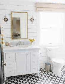 Small Pedestal Sink Kohler Lynwood Remodel Guest Bathroom Studio Mcgee