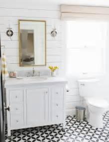 Horizontal Beadboard - lynwood remodel guest bathroom studio mcgee