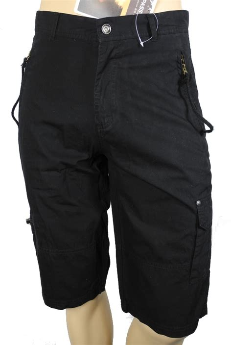 mens trespass franked cotton walking hiking shorts leg