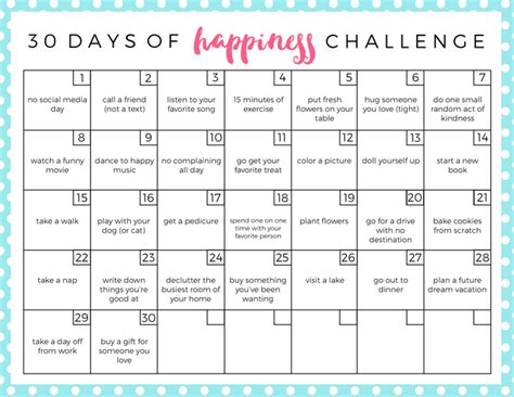 Digital Detox Journal Prompts 30 Days by 30 Day Happiness Challenge And Marriage