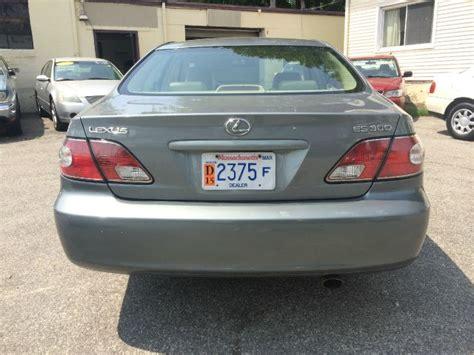 lexus gl 300 2002 lexus es 300 gl manual w siab details attleboro ma