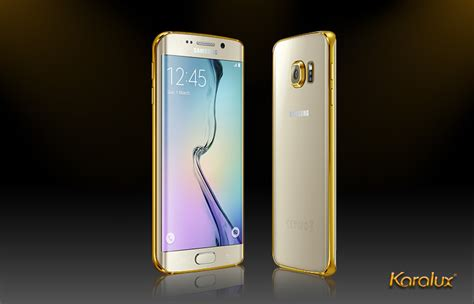 Samsung S6 Edge Gold 24k gold samsung galaxy s6 edge plus gold plated for s6