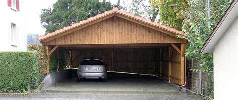 Autounterstand Holz by Carport Garage Gartenhaus 220 Berdachung Autounterstand