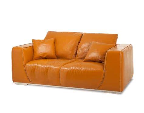 michael amini sofa michael amini mia bella leather stainless steel standard
