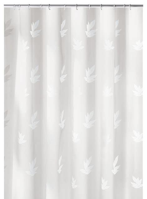 contemporary fabric shower curtains snow white fabric shower curtain canton contemporary