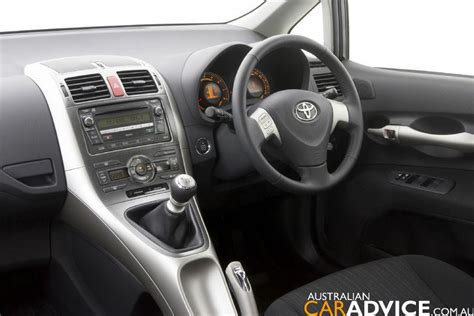 Toyota Corolla 2007 Interior by 2007 Toyota Corolla Review Caradvice