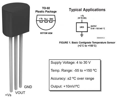 transistor lm35 midiendo temperatura con arduino y lm35 de las cosas
