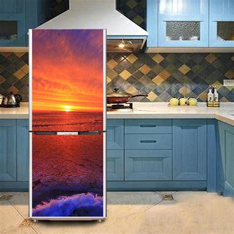 Refrigerator Sticker 60x150 Cm Gre114 promoci 243 n de puerta de impresi 243 n de etiqueta compra puerta de impresi 243 n de etiqueta