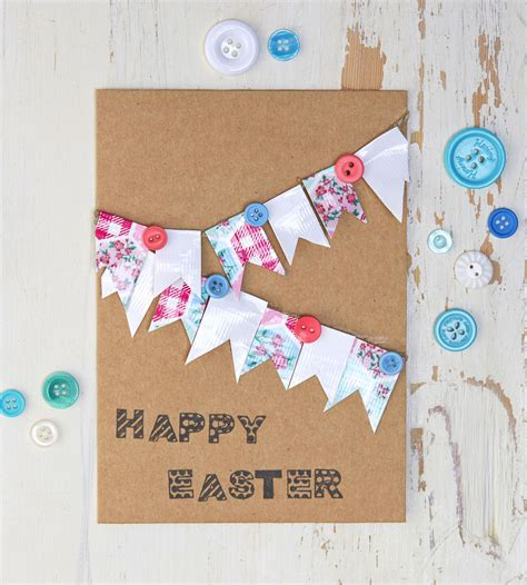 to make 5 easy easter cards to make hobbycraft