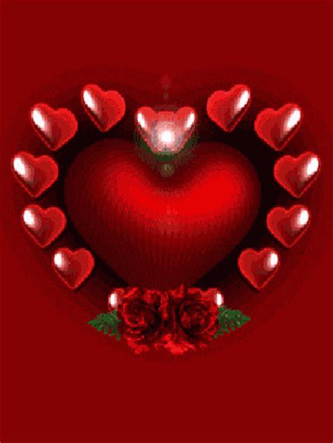 imagenes de i love you en movimiento imagenes animadas de corazones y rosas rojas