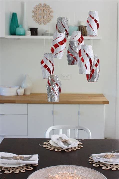 christmas decoration with toilet paper rolls 30 creative paper decorations ideas magment