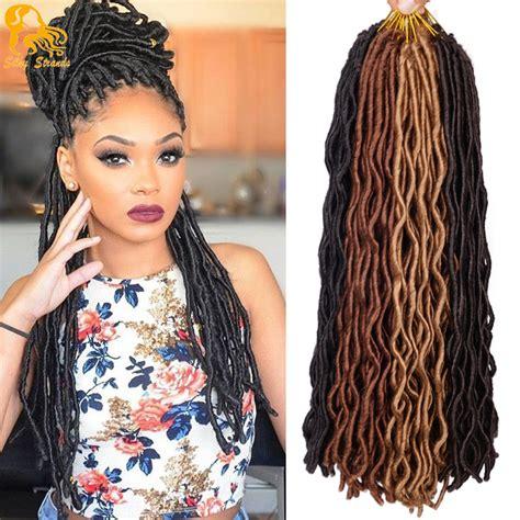 crochet hair braids braiding hair 2x faux locs braid 18 by amy 24 faux locs crochet hair 2x janet collection havana