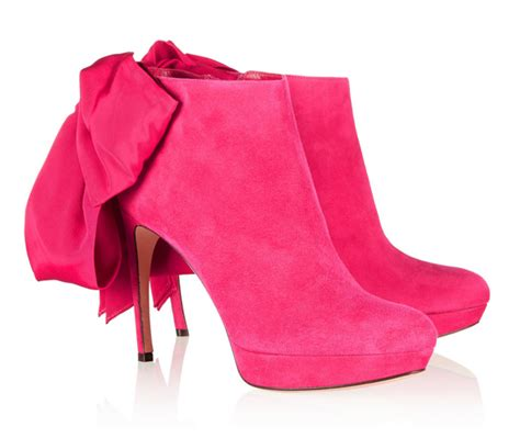 Mcqueen Bow Back Ankle Boots by My Fashion