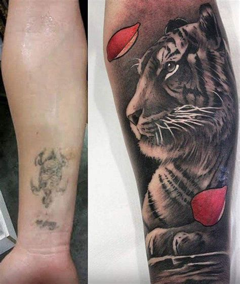 guy covered in tattoos 55 cover up tattoos before and after tigers