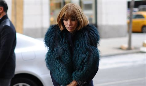 Wintour Wardrobe by Wintour S Fashion Week Wardrobe And Favorite Fur