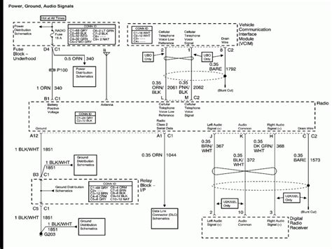 2002 chevy tahoe speaker wire diagram wiring diagrams