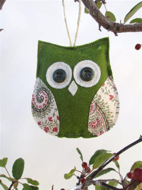 Owl Tree Ornaments - owl ornament decorative tree ornament by