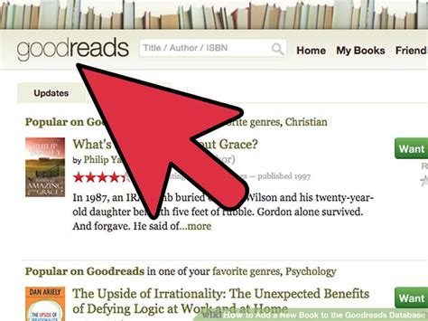 How To Search For On Goodreads How To Add A New Book To The Goodreads Database With Pictures