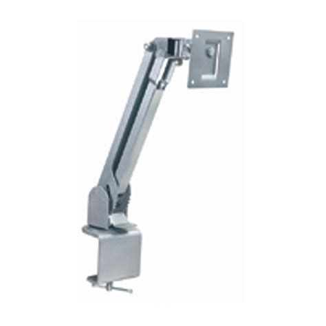 Lcd Desk Mount by Luxor Universal 10 22 Inch Lcd Monitor Desk Mount Silver Llmsd