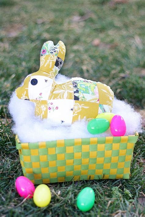Patchwork Rabbit Pattern - patchwork bunny pattern allfreesewing