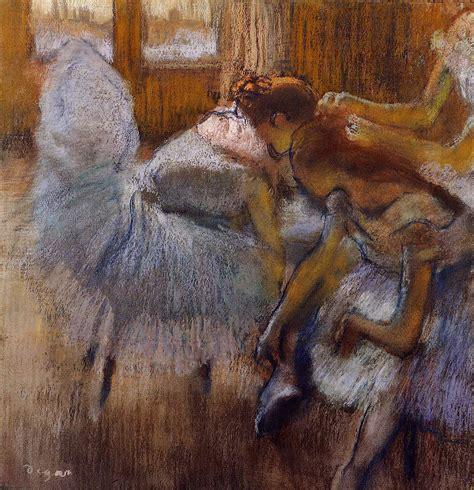relaxing painting videos the athenaeum dancers relaxing edgar degas