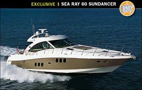 boat brands like sea ray sea ray 60 sundancer power motoryacht
