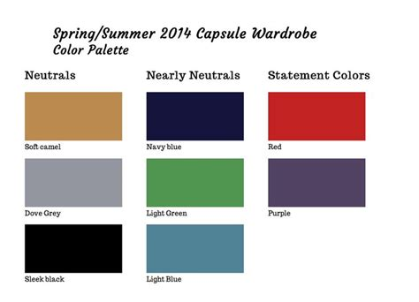 Wardrobe Color Palette by Pin By Krier On Wardrobe Architect
