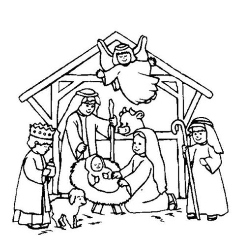 catholic nativity scene coloring pages 34 best fun for children images on pinterest coloring