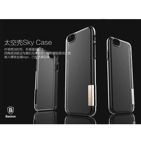 Baseus Iphone 66s Plus Black baseus sky aluminium series ultra thin for