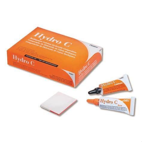 Hydro C 3 cimento forrador de hidr 243 xido de c 225 lcio hydro c dentsply dental