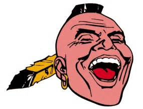 new screaming indian braves bp caps talking chop