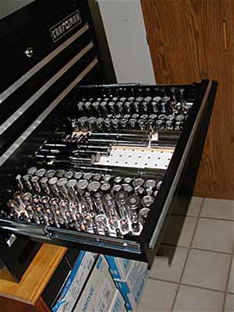 socket holder ideas peg board socket storage projects