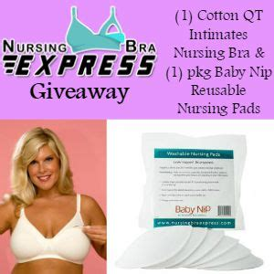 Express Giveaway - mamathefox nursing bra express giveaway