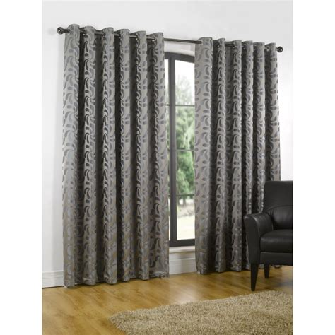 eyelet curtain urban living erin steel readymade eyelet curtains urban