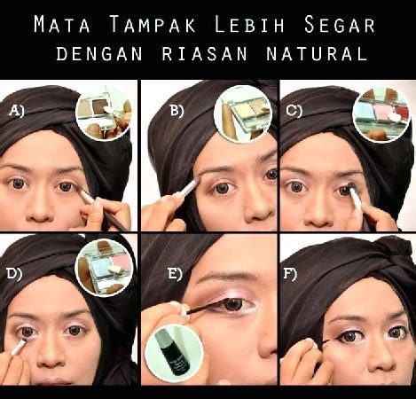 Eyeshadow Dan Blush On Wardah tips cara make up wardah yang simpel dan praktis