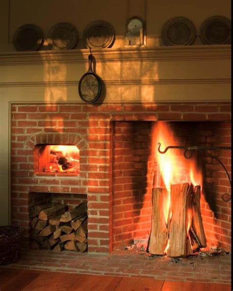 Oven Fireplace by Cooking Rumford