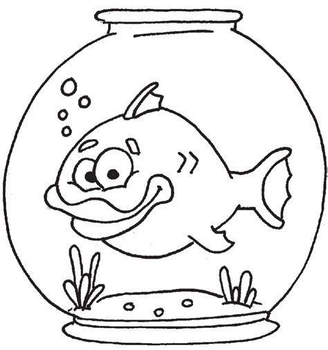 coloring fishbowl page 171 free coloring pages