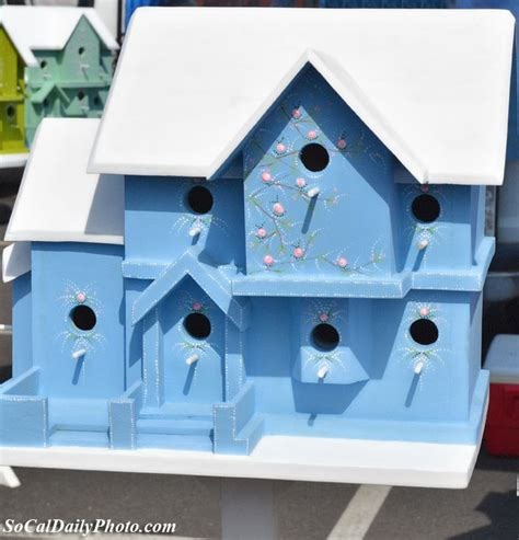 Handmade Birdhouse - costa mesa southern california daily photo