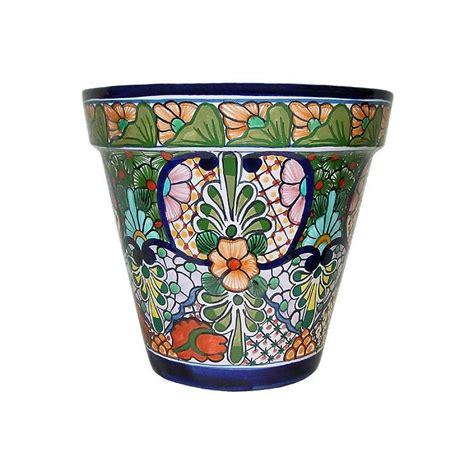 mexican pottery planters talavera planters collection talavera planter tp175