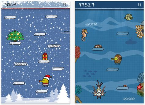 doodle jump apk 2 shared doodle jump celebrates the 2nd birthday surpasses 10