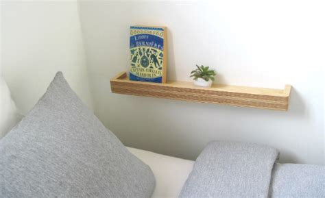 no room for bedside table seven different ways to use a picture ledge floating shelf