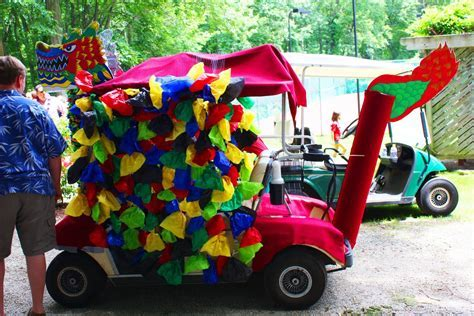 candyland golfcart   Little Acorn Learning: Golf Cart