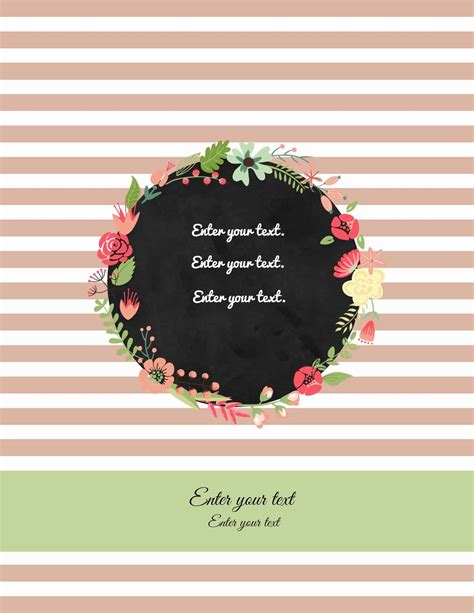 cover templates free binder cover templates customize print at